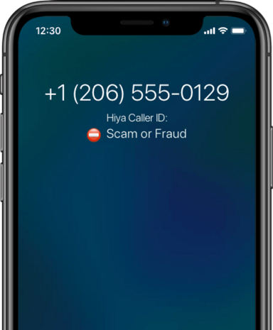 No fraud or scam call labels.