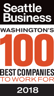 100 Best Companies to Work For 2018 - Seattle Business
